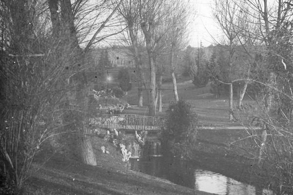 Parque del Oeste Madrid 1910