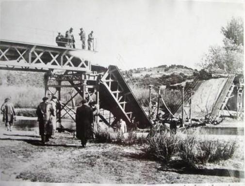 Puente río Guadarrama destruido-1936